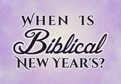 When Is Biblical New Year's?
