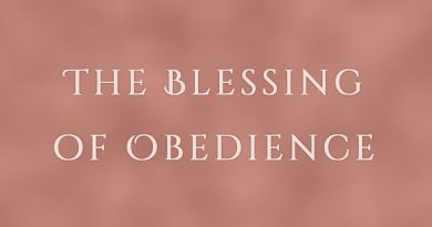 The Blessing of Obedience - a laughing child