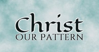 Christ Our Pattern