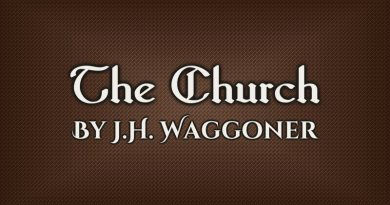 The Church by J.H. Waggoner