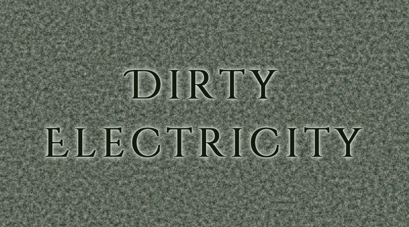 Dirty Electricity - a digital power meter
