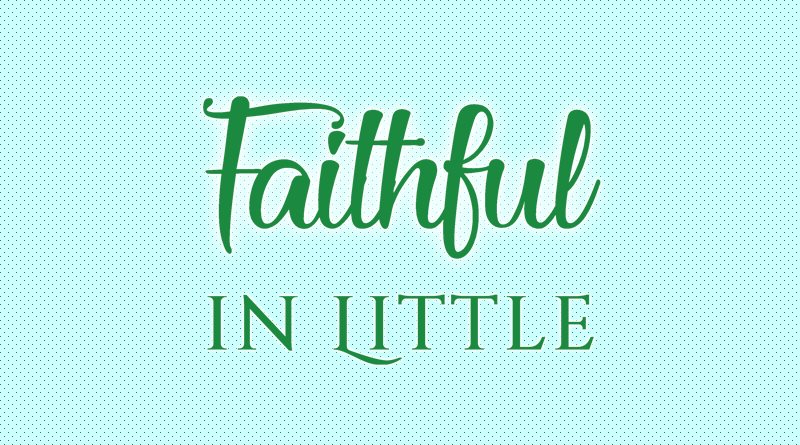 Faithful in Little