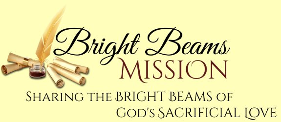 Bright Beams Mission logo and tagline