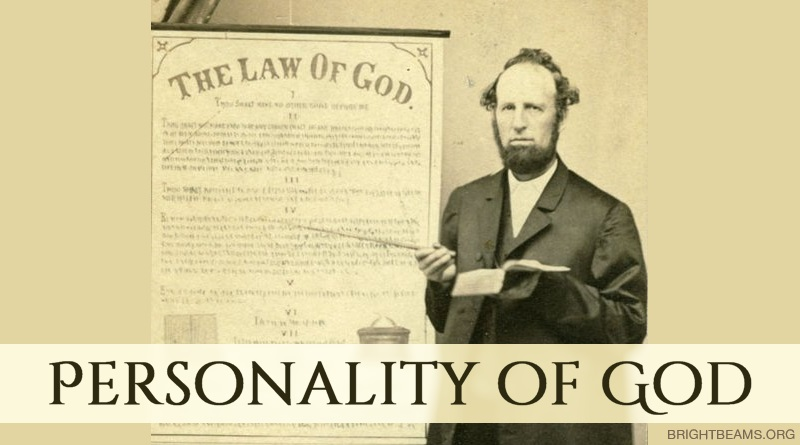 Personality of God - James White