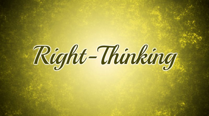Right-Thinking