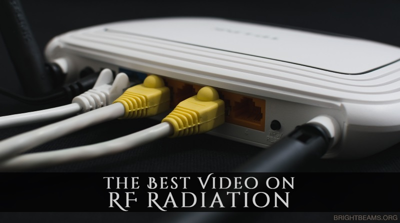 The Best Video on RF Radiation - A modem/router with connected ethernet cables